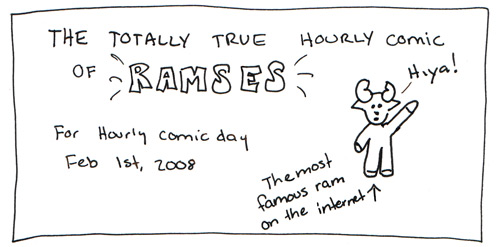 Ramses Hourly Comic Intro