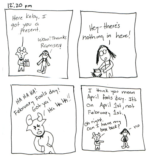 Ramses Hourly Comic 4