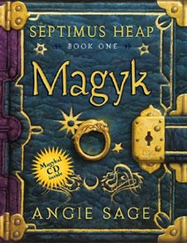 Septimus Heap 1 Magyk just Cover