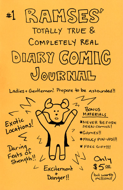 Cover of Ramses' Comic Journal