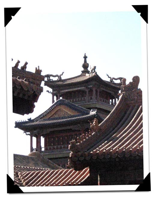 Rooftop Ornaments in the Forbidden City