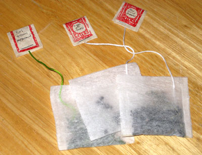 keby's finished tea bags